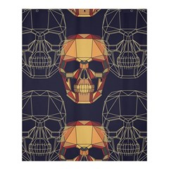 Skull Pattern Shower Curtain 60  X 72  (medium)  by BangZart