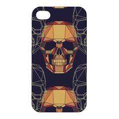 Skull Pattern Apple Iphone 4/4s Hardshell Case by BangZart