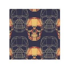 Skull Pattern Small Satin Scarf (square) by BangZart