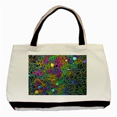 Starbursts Biploar Spring Colors Nature Basic Tote Bag by BangZart