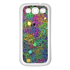Starbursts Biploar Spring Colors Nature Samsung Galaxy S3 Back Case (white) by BangZart