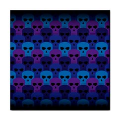 Skull Pattern Wallpaper Tile Coasters by BangZart