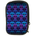Skull Pattern Wallpaper Compact Camera Cases Front