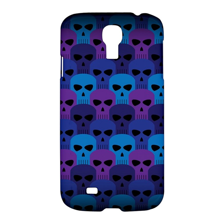 Skull Pattern Wallpaper Samsung Galaxy S4 I9500/I9505 Hardshell Case