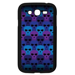 Skull Pattern Wallpaper Samsung Galaxy Grand Duos I9082 Case (black) by BangZart