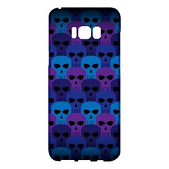 Skull Pattern Wallpaper Samsung Galaxy S8 Plus Hardshell Case  by BangZart