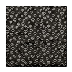 Skull Halloween Background Texture Face Towel by BangZart