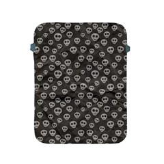 Skull Halloween Background Texture Apple Ipad 2/3/4 Protective Soft Cases