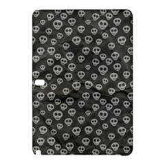 Skull Halloween Background Texture Samsung Galaxy Tab Pro 12 2 Hardshell Case by BangZart