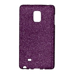 Purple Colorful Glitter Texture Pattern Galaxy Note Edge by paulaoliveiradesign