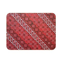 Red Batik Background Vector Double Sided Flano Blanket (mini)