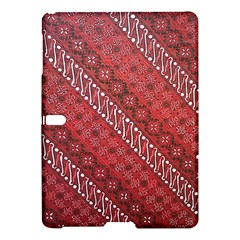 Red Batik Background Vector Samsung Galaxy Tab S (10 5 ) Hardshell Case