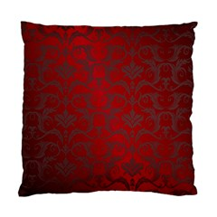 Red Dark Vintage Pattern Standard Cushion Case (two Sides) by BangZart