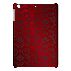 Red Dark Vintage Pattern Apple Ipad Mini Hardshell Case by BangZart