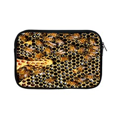 Queen Cup Honeycomb Honey Bee Apple Ipad Mini Zipper Cases by BangZart