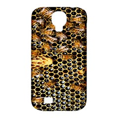 Queen Cup Honeycomb Honey Bee Samsung Galaxy S4 Classic Hardshell Case (pc+silicone) by BangZart