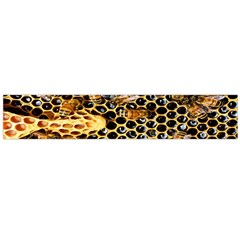 Queen Cup Honeycomb Honey Bee Flano Scarf (large) by BangZart