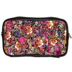 Psychedelic Flower Toiletries Bags