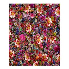 Psychedelic Flower Shower Curtain 60  X 72  (medium)  by BangZart