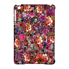 Psychedelic Flower Apple Ipad Mini Hardshell Case (compatible With Smart Cover) by BangZart
