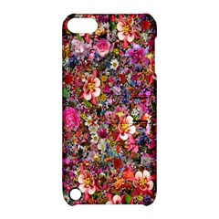 Psychedelic Flower Apple Ipod Touch 5 Hardshell Case With Stand by BangZart