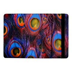 Pretty Peacock Feather Samsung Galaxy Tab Pro 10 1  Flip Case by BangZart