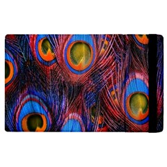 Pretty Peacock Feather Apple Ipad Pro 12 9   Flip Case by BangZart
