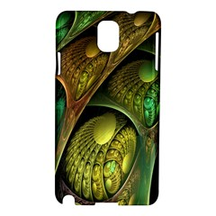 Psytrance Abstract Colored Pattern Feather Samsung Galaxy Note 3 N9005 Hardshell Case by BangZart