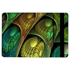 Psytrance Abstract Colored Pattern Feather Ipad Air 2 Flip by BangZart
