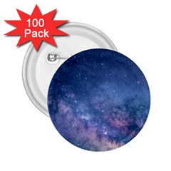 Galaxy Nebula Astro Stars Space 2 25  Buttons (100 Pack)  by paulaoliveiradesign