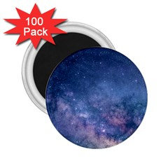 Galaxy Nebula Astro Stars Space 2 25  Magnets (100 Pack)  by paulaoliveiradesign