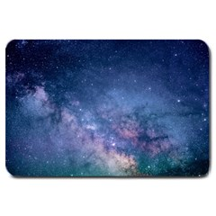 Galaxy Nebula Astro Stars Space Large Doormat  by paulaoliveiradesign