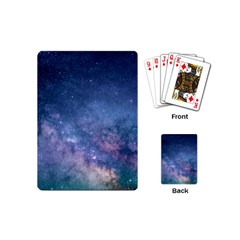 Galaxy Nebula Astro Stars Space Playing Cards (mini)  by paulaoliveiradesign