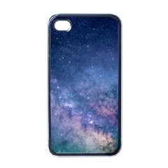 Galaxy Nebula Astro Stars Space Apple Iphone 4 Case (black) by paulaoliveiradesign
