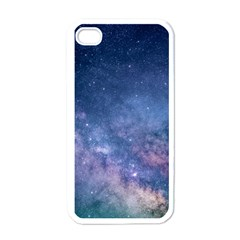 Galaxy Nebula Astro Stars Space Apple Iphone 4 Case (white) by paulaoliveiradesign