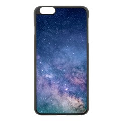 Galaxy Nebula Astro Stars Space Apple Iphone 6 Plus/6s Plus Black Enamel Case by paulaoliveiradesign
