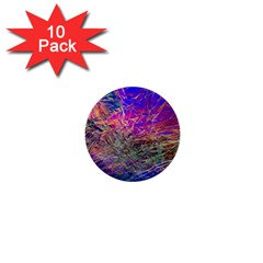 Poetic Cosmos Of The Breath 1  Mini Buttons (10 Pack)  by BangZart