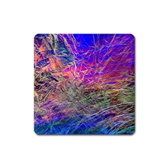 Poetic Cosmos Of The Breath Square Magnet by BangZart