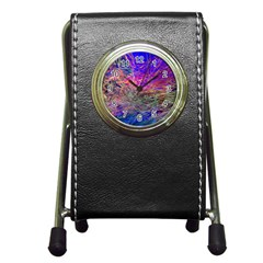 Poetic Cosmos Of The Breath Pen Holder Desk Clocks by BangZart