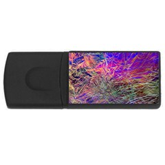 Poetic Cosmos Of The Breath Rectangular Usb Flash Drive