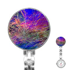 Poetic Cosmos Of The Breath Stainless Steel Nurses Watch by BangZart