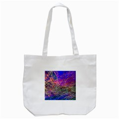 Poetic Cosmos Of The Breath Tote Bag (white) by BangZart