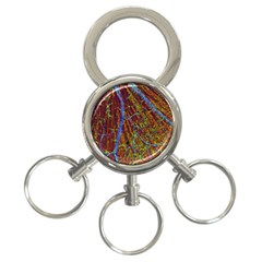 Neurobiology 3 Ring Key Chains by BangZart