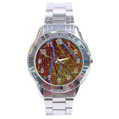 Neurobiology Stainless Steel Analogue Watch by BangZart
