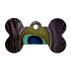 Peacock Feather Dog Tag Bone (two Sides) by BangZart