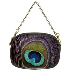 Peacock Feather Chain Purses (one Side)  by BangZart
