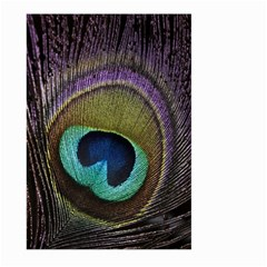 Peacock Feather Large Garden Flag (two Sides) by BangZart