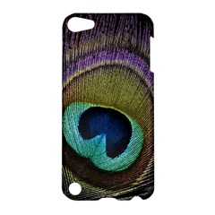 Peacock Feather Apple Ipod Touch 5 Hardshell Case by BangZart