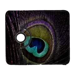 Peacock Feather Galaxy S3 (flip/folio) by BangZart