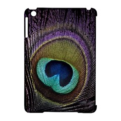 Peacock Feather Apple Ipad Mini Hardshell Case (compatible With Smart Cover)